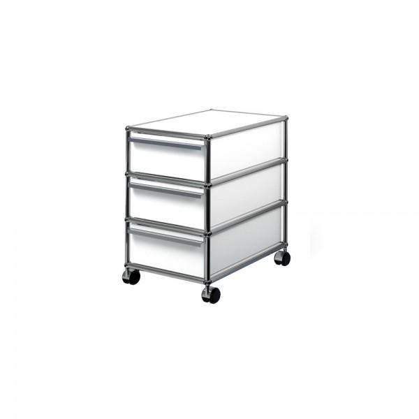 rollcontainer mit 2 schubladen von usm haller m belbausysteme stoll online shop. Black Bedroom Furniture Sets. Home Design Ideas