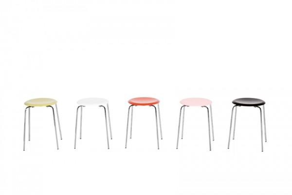 der hocker dot von fritz hansen stoll online shop. Black Bedroom Furniture Sets. Home Design Ideas
