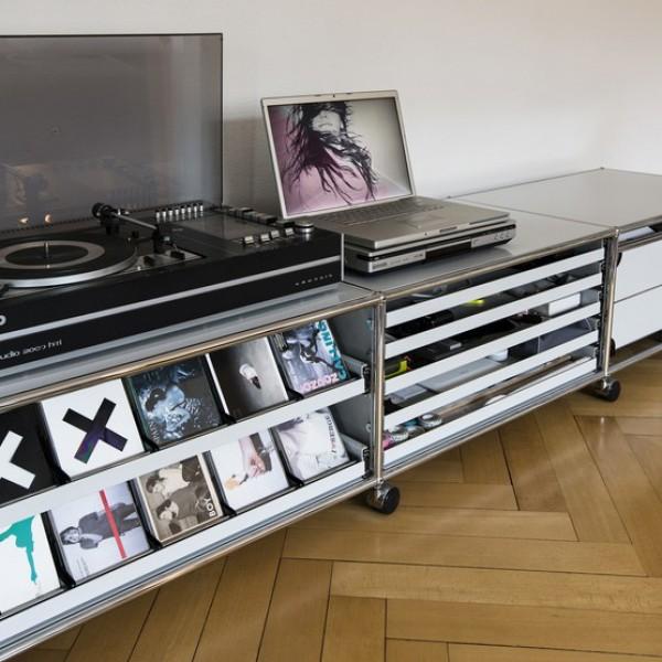 cd einsatz von usm haller stoll online shop. Black Bedroom Furniture Sets. Home Design Ideas