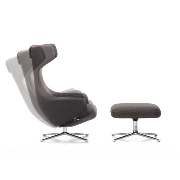 der sessel grand repos mit ottoman von vitra stoll online shop. Black Bedroom Furniture Sets. Home Design Ideas